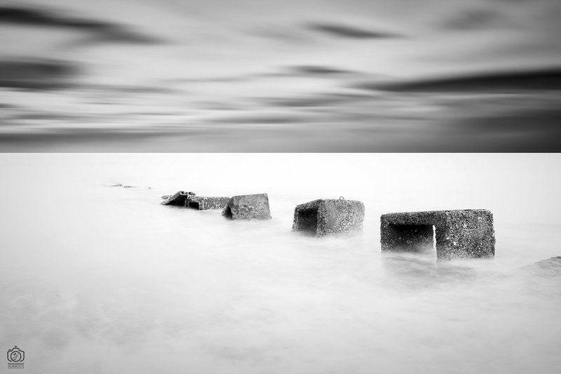 sea,nature,rock,water,calm,landscape,iran,dream,fog,abstract,canon,canon80d,canonphotography,blackandwhite,black,white,mphammadhemmaty untitledphoto preview