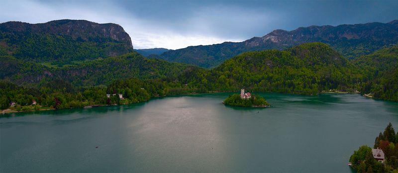 Озеро Блед. Словения.photo preview