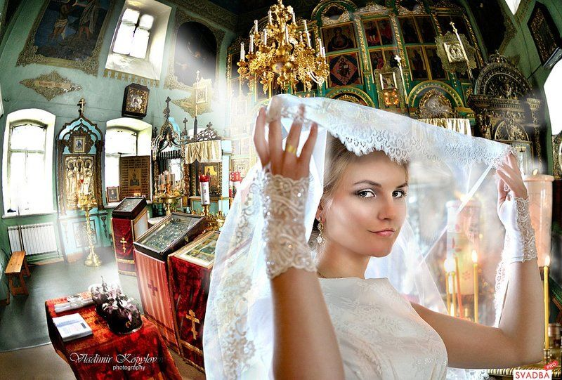 Венчание г Галич  Невестаphoto preview