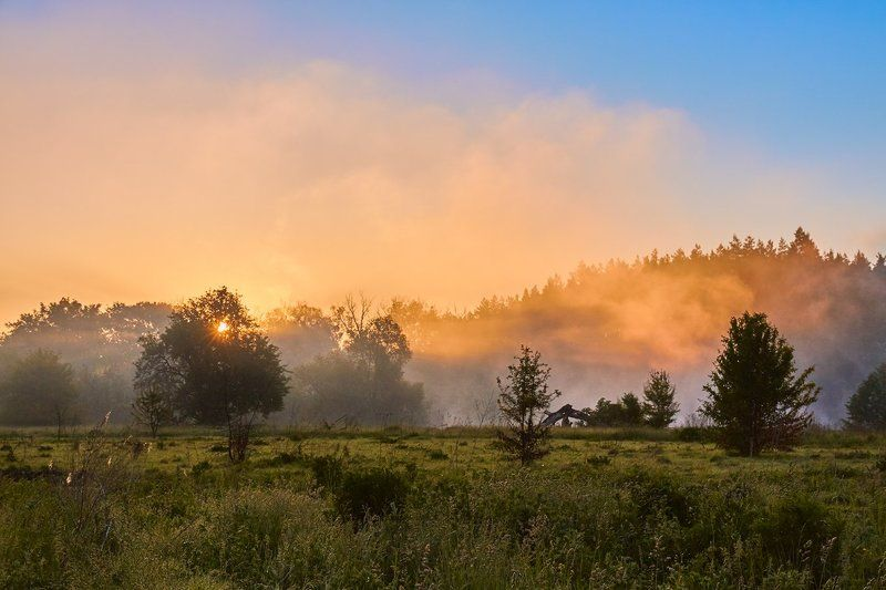 Огненный восходphoto preview