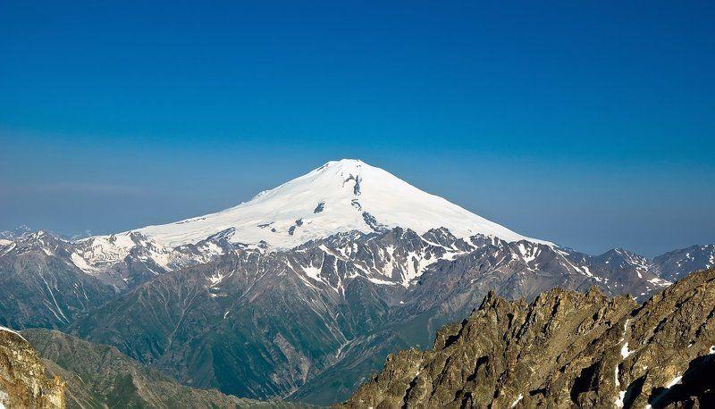 эльбрус, кавказ, горы Эль (банально)photo preview