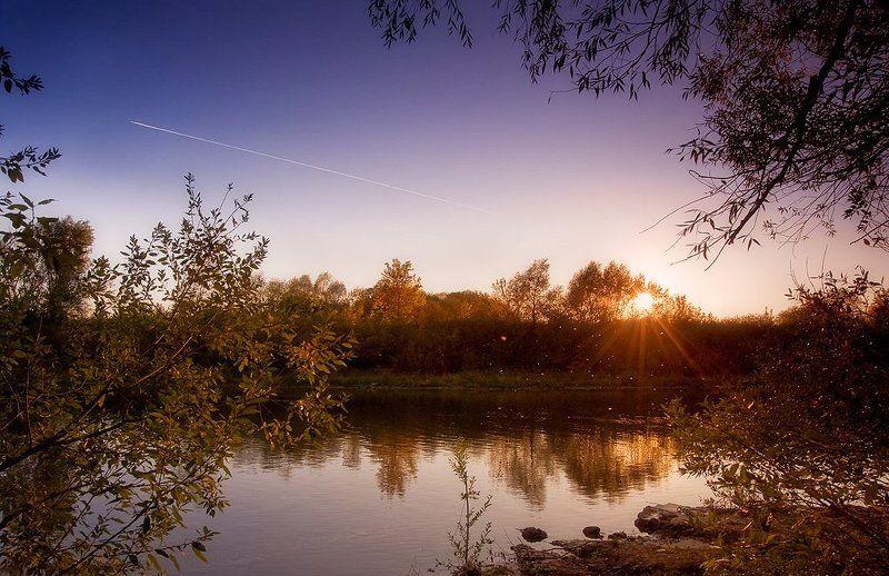 осенняя закатно-романтическаяphoto preview
