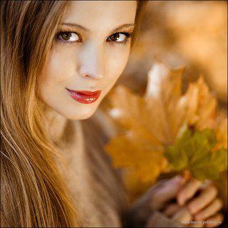 Алена. Девушка-осень
