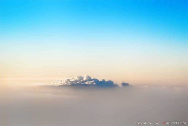 пейзаж, небеса, рассвет Morning in the celestial countryphoto preview