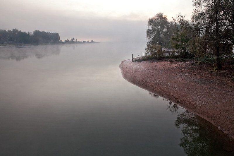 октябрь, осень, утро, туман, тишина Тихое утро октябряphoto preview