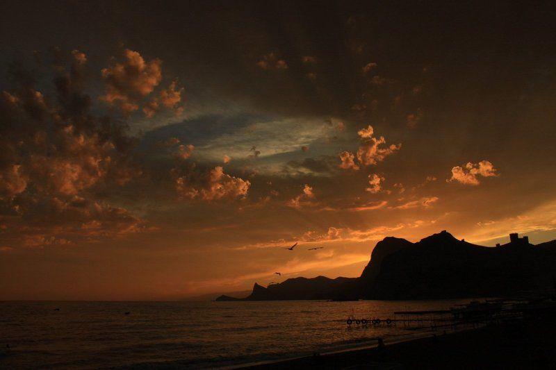 судак mesmerizing sunsetphoto preview