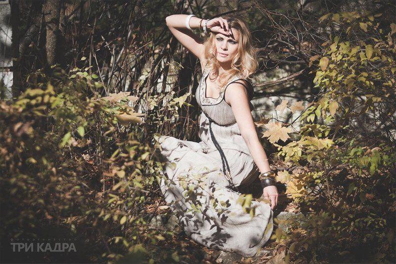 пленэр, портрет, лес, парк, девушка ***photo preview