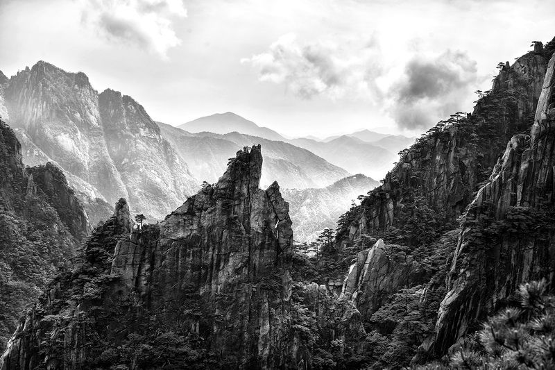 Nature\'s Drawings... Huangshan.photo preview