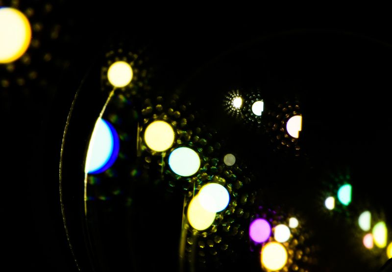 Абстракция, блики, объектив, макросъемка Цветные сны Никонистаphoto preview