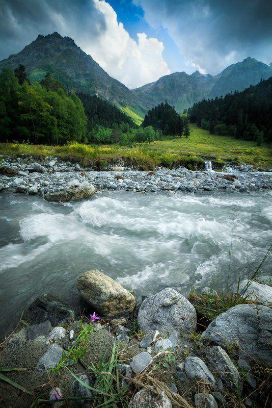 архыз, кавказ, поход, лето Перед ливнем...photo preview