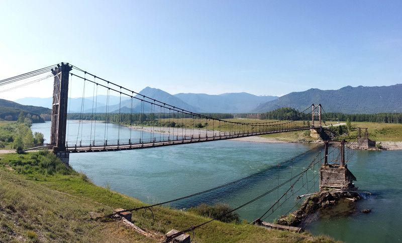 Катунь, Мост Старый мост через р. Катунь photo preview