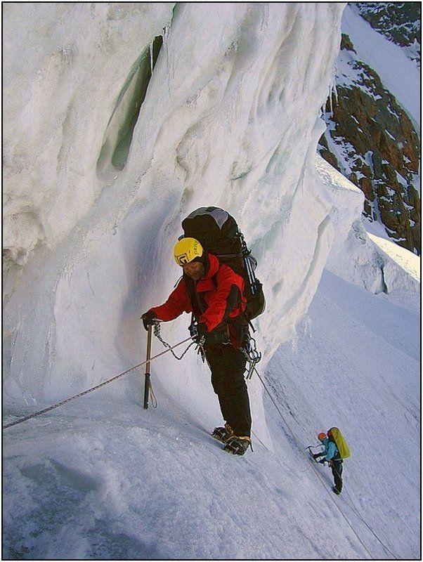 тянь-шань, горы, ледник А лёд вблизи совсем не голубой...photo preview
