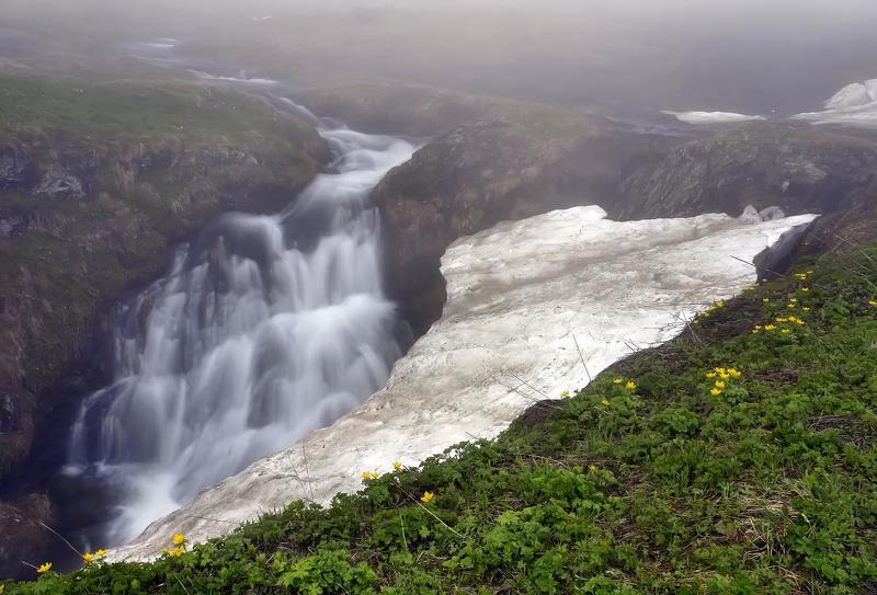 снег, вода, цветы, туман ВРЕМЕНА  ГОДАphoto preview