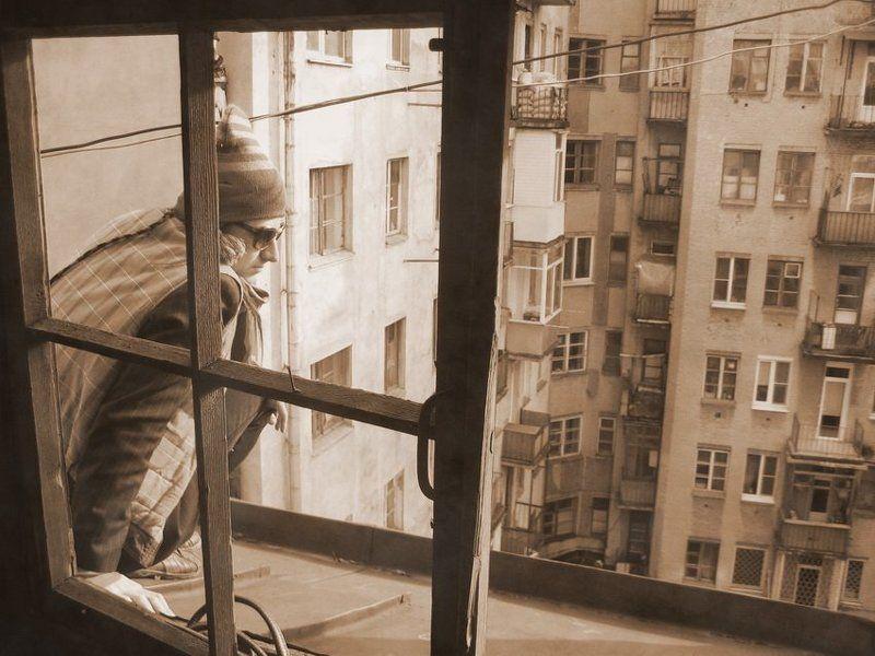 Московский дворикphoto preview
