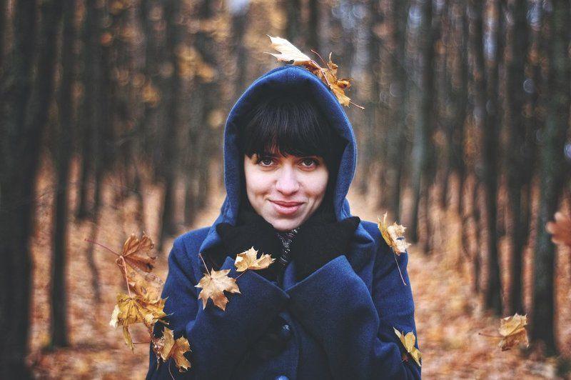 Осенний листопадphoto preview
