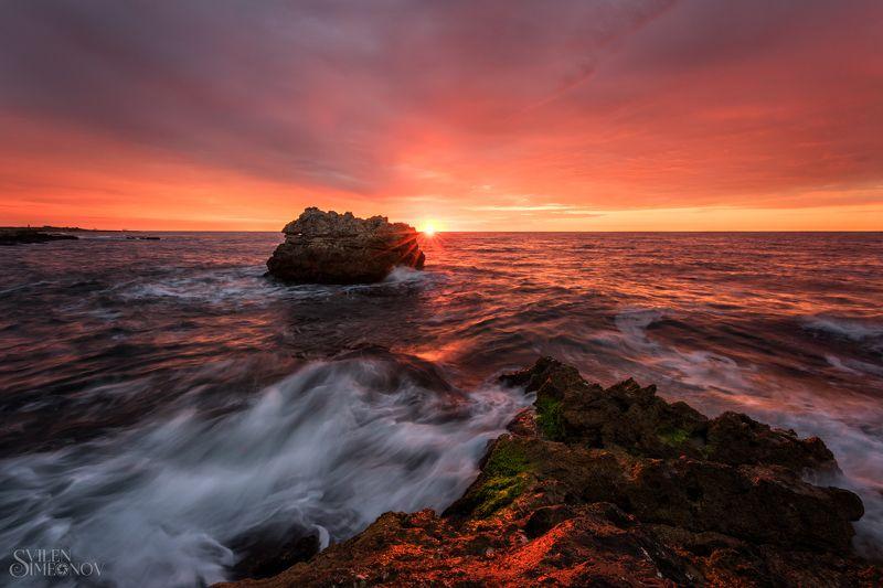 Золотой восход солнцаphoto preview