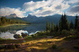 Утро на озере Светлое