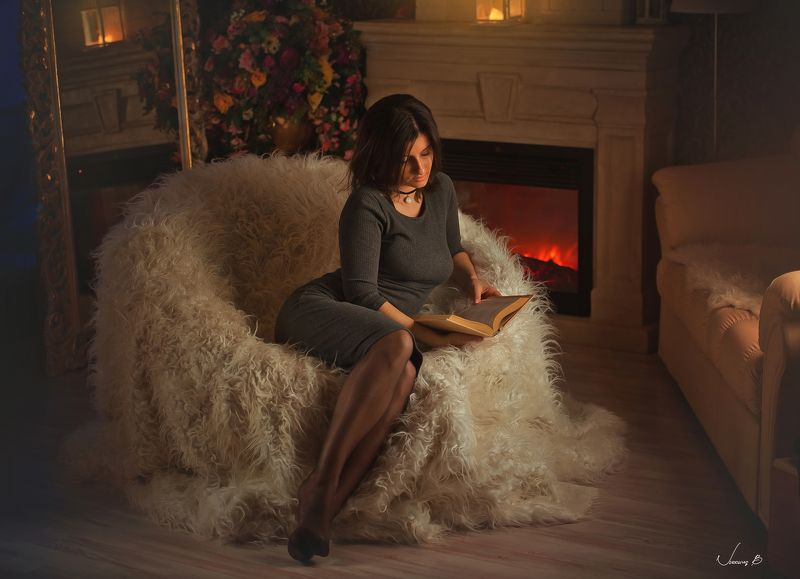 студия Когда зарядили дожди, наступает время чтения , творчества , созидания .photo preview