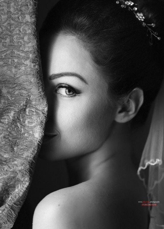невеста Скромность взглядаphoto preview