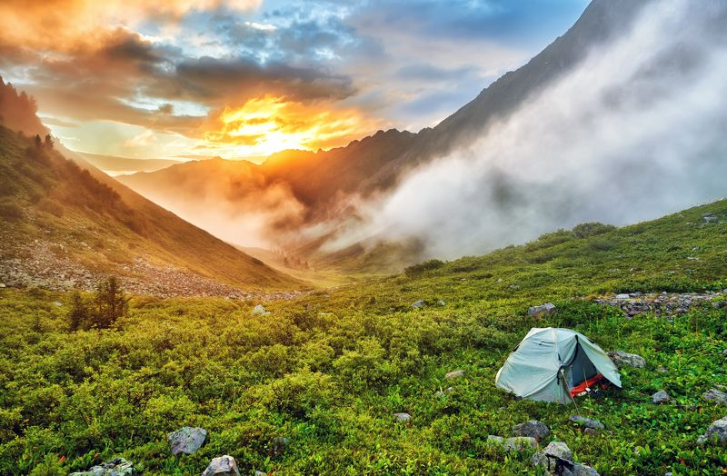 Утро в горной тундреphoto preview