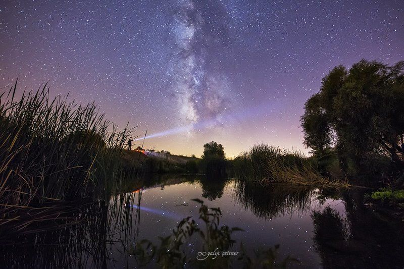 night, milkyway, nature, lake, astro, landscape, landscapes Lighting the Milkywayphoto preview