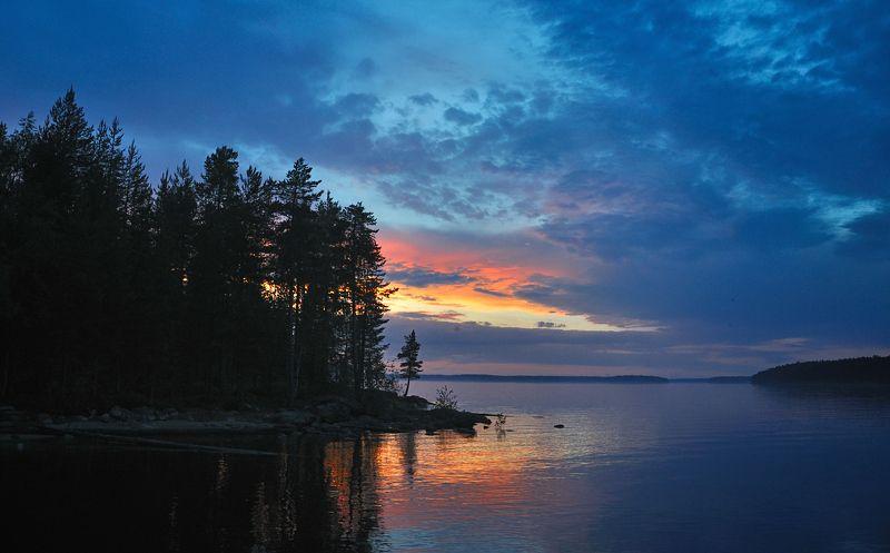 Сегозеро. Полночь.photo preview