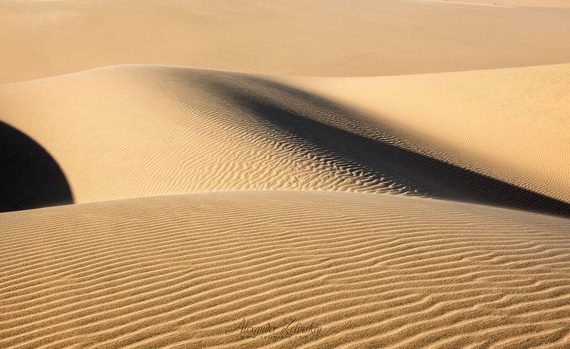 дюны, песок, пустыня, намибия Формы и линииphoto preview