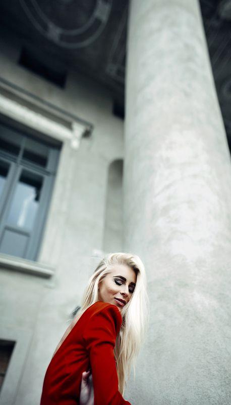 red, dress, portrait, canon  Kphoto preview