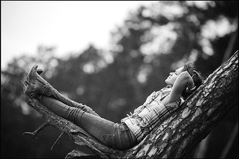 лес, гамак, портрет Лесной гамакphoto preview