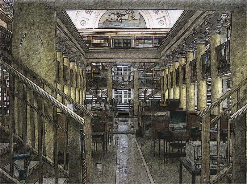 yliopiston kirjasto, helsinki Про лопату...photo preview