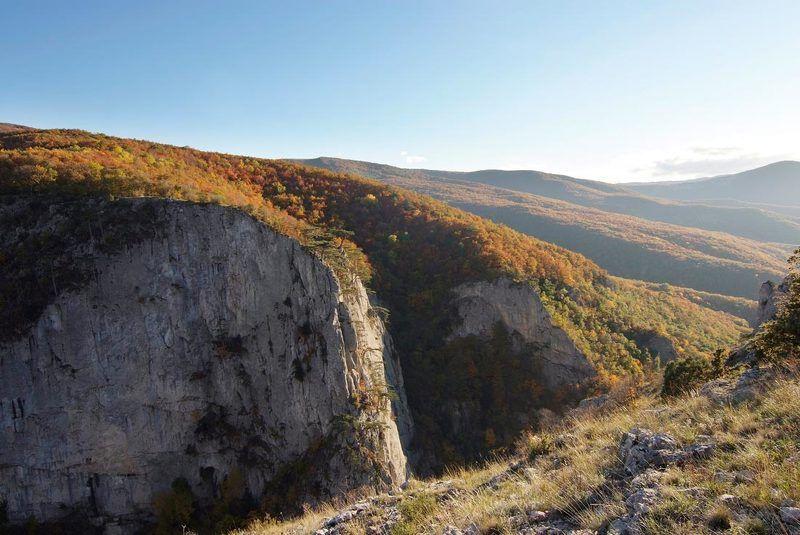 Большой каньон. Сверху вниз.photo preview