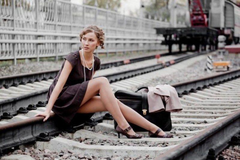 отправление, поезд, билет Отъездphoto preview