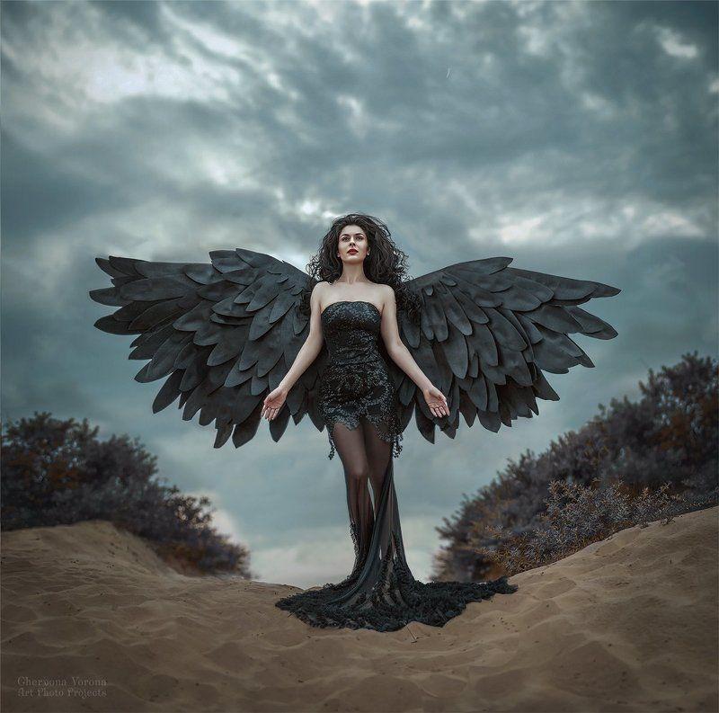 Тёмный ангелphoto preview