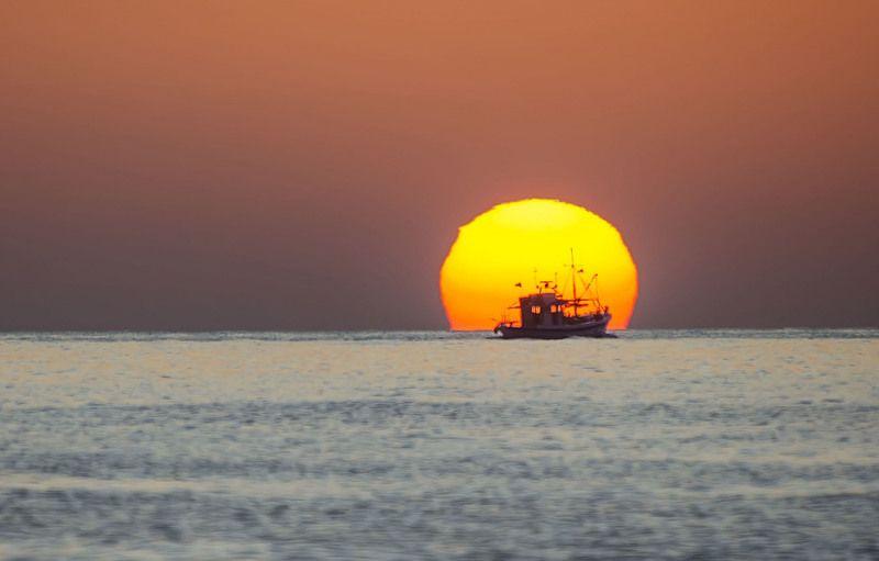 Sunrise photo preview