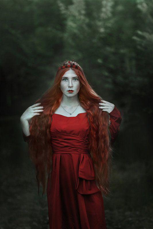 персефона, миф, рыжие волосы,  Персефонаphoto preview