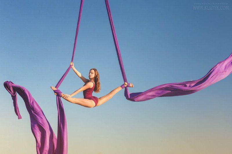 воздушная акробатика, aerial dance, aerial silks, photo preview