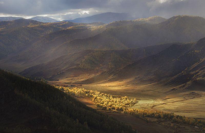 алтай, осень В долине Алтайских горphoto preview