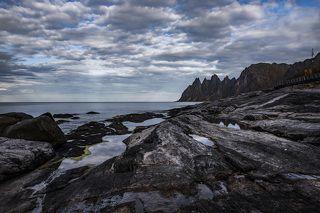 Норвегия . Остров Сенья .