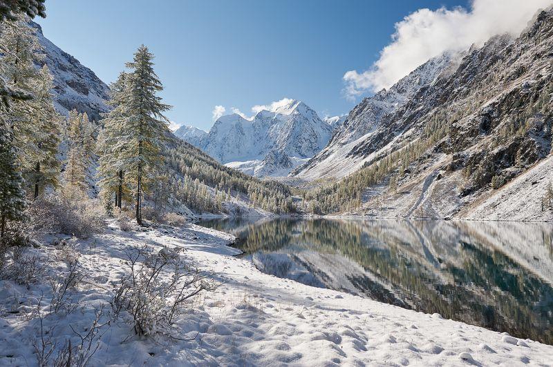 Снежное утро на Шавлинскомphoto preview