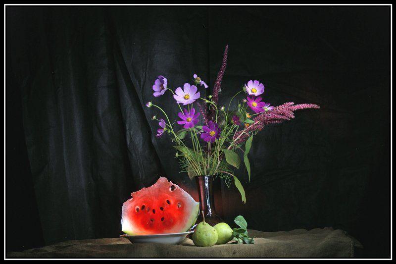 световая кисть, натюрморт Этюд с арбузомphoto preview