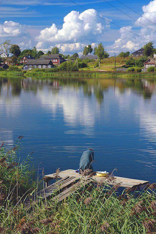 бологое, озеро, полоскание белья Как 1000 лет назадphoto preview