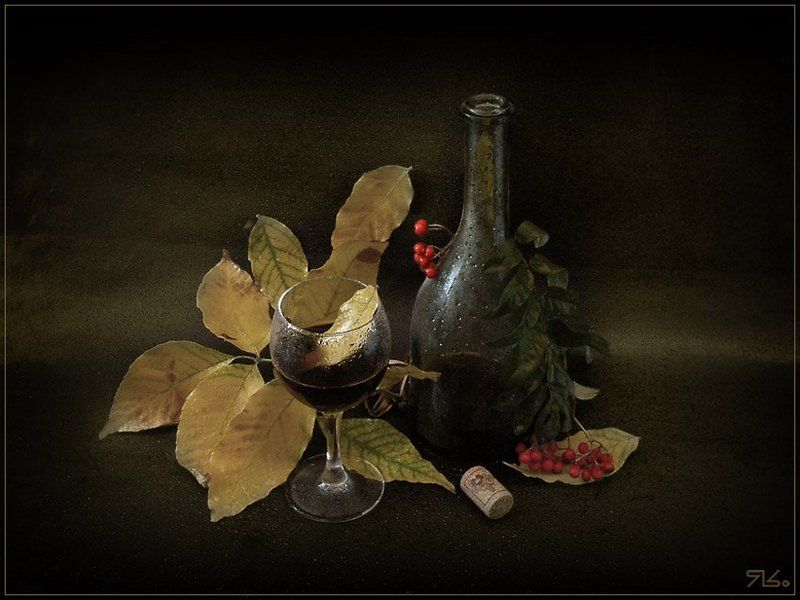 листья осень ...Вариации на темУ...photo preview