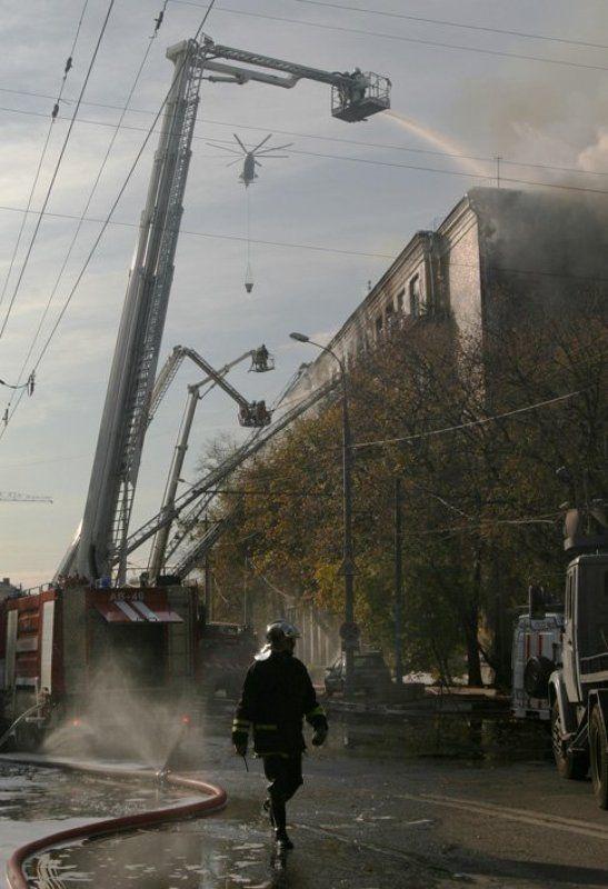 пожар на Дубровкеphoto preview