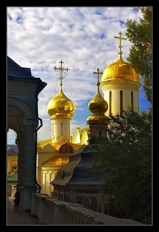 троице-сергиева, лавра, купола Золотые куполаphoto preview