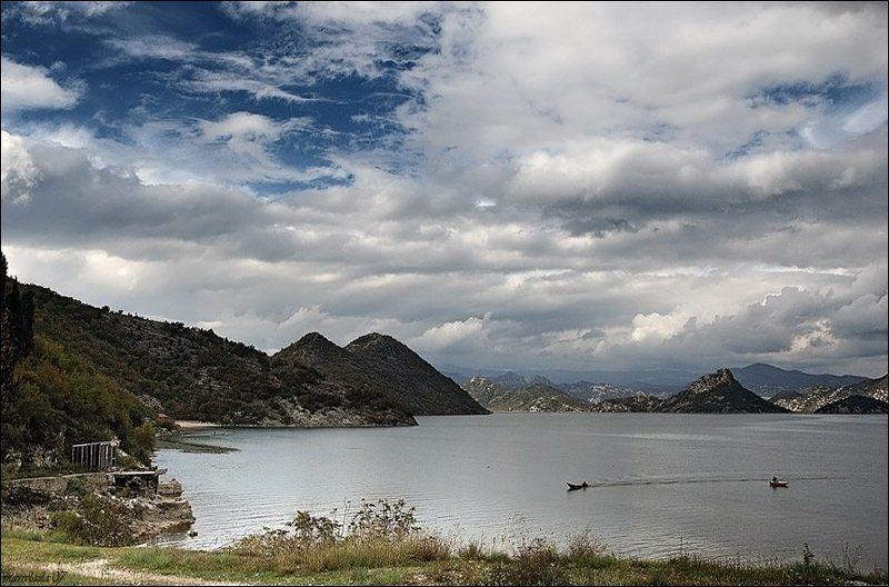 озеро, черногория ***photo preview