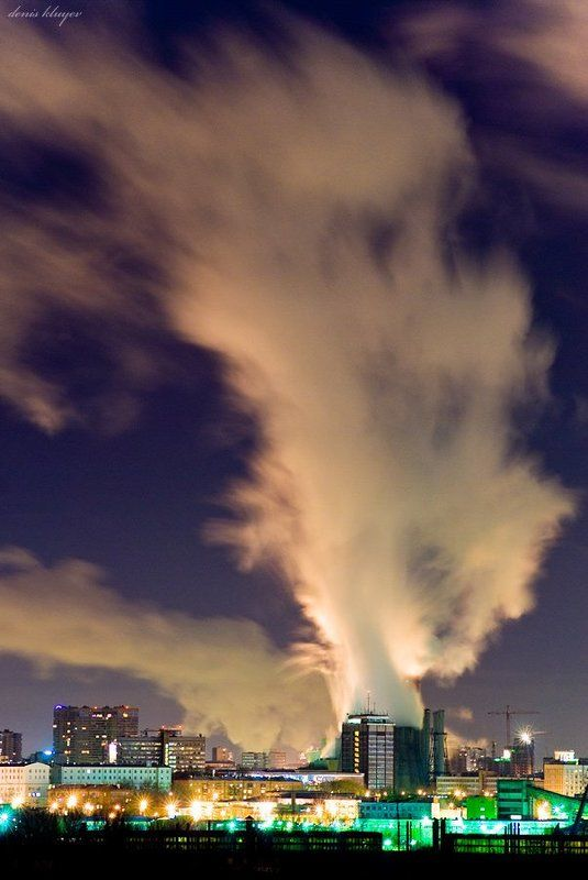 фото, пейзаж, денис клюев, variart Городские облакаphoto preview