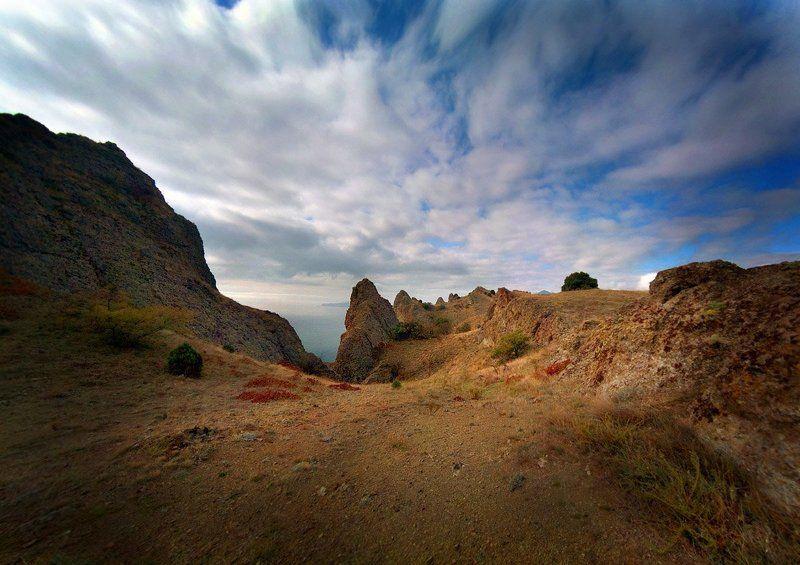 крым, море, горы Стремлениеphoto preview