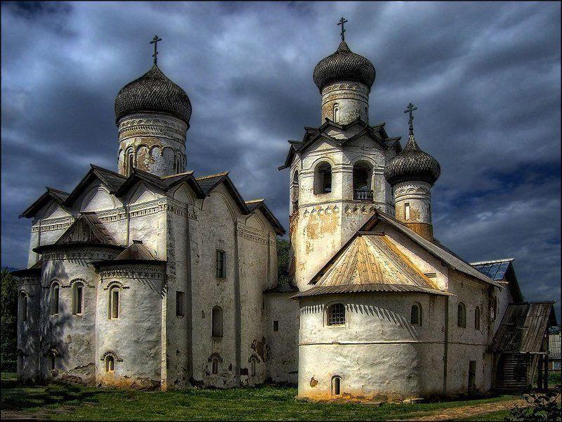старая, русса , спасо-преображенский, монастырь Спасо-Преображенский монастырьphoto preview