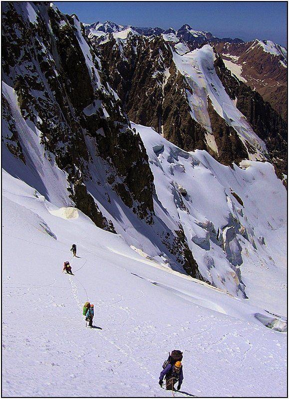 тянь_шань, ледник,перевал ***photo preview