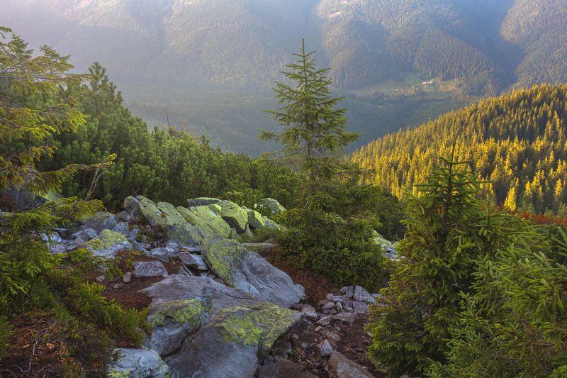 Горы на закатеphoto preview